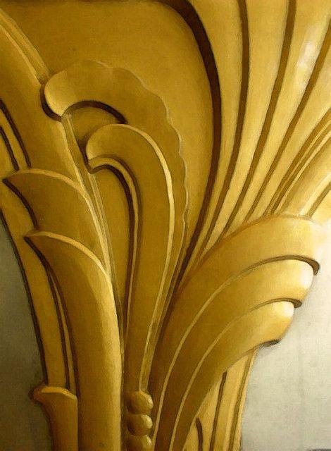 art deco detail architecture