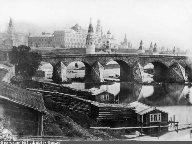 daguerreotypic photo of Moscow - dated July 5th, 1839.