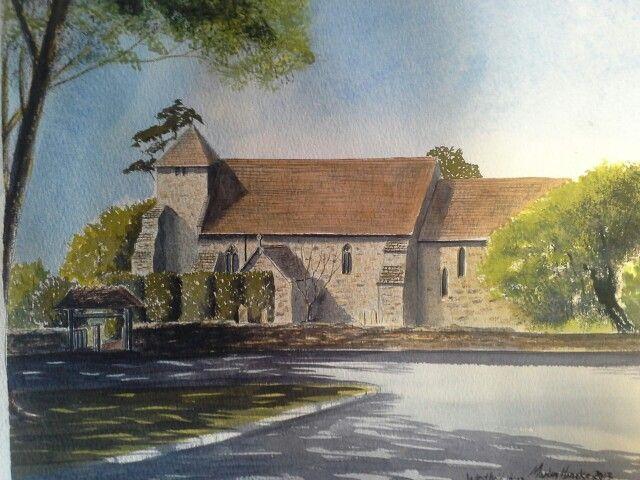 Westfield church,  commissions taken. martinheneke@live.co.uk