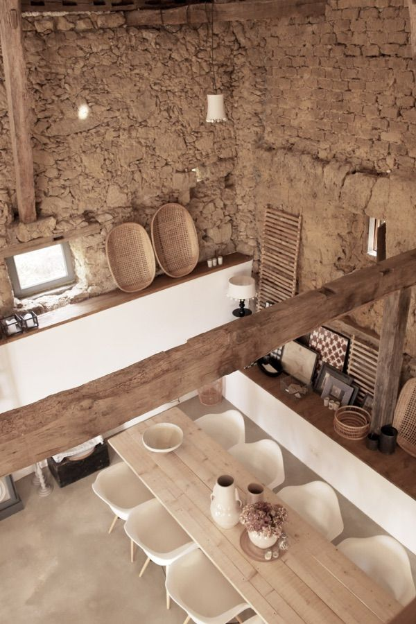 Una casa dallo stile rustico nel Sud della Francia