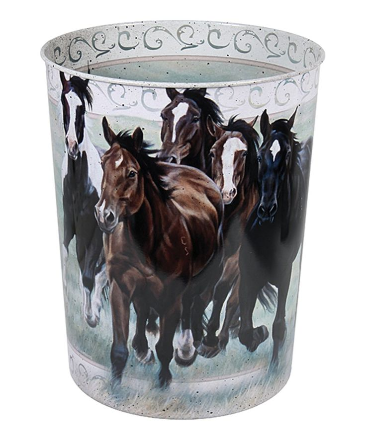 Loving this River's Edge Products | Horse Waste Basket on #zulily! #zulilyfinds