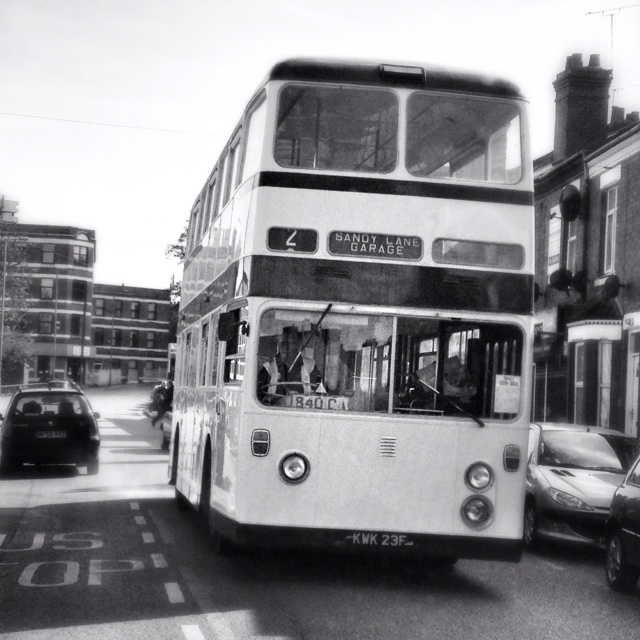 Old bus in Coventry