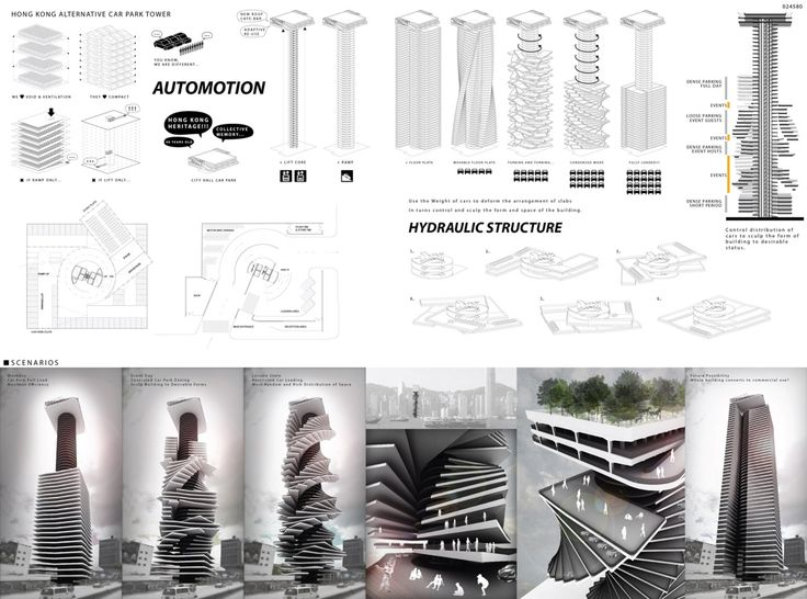 [AC-CA] International Architectural Competition - Concours d'Architecture | [HONG KONG] Alternative Car Park Tower
