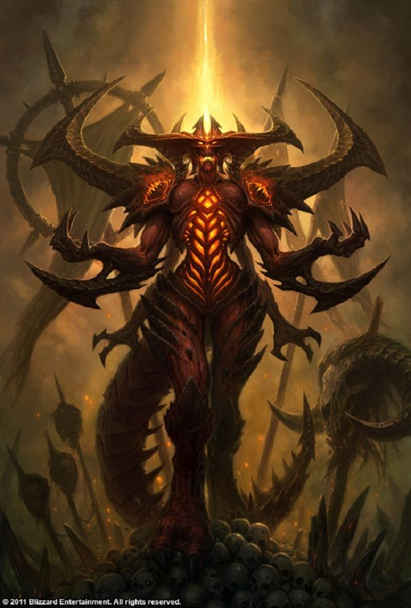 This was the new Diablo.... I was very disappointed Blizzard...