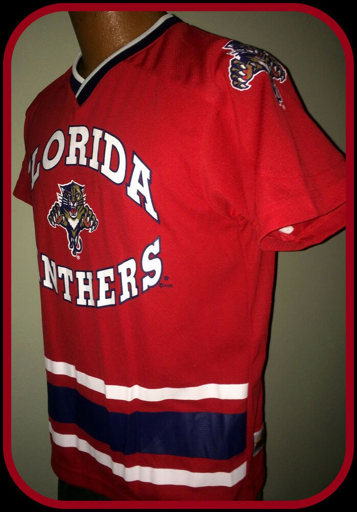 new product 438bf 64878 Details about FLORIDA PANTHERS MIGHTY MAC WINNING GOAL YOUTH ...