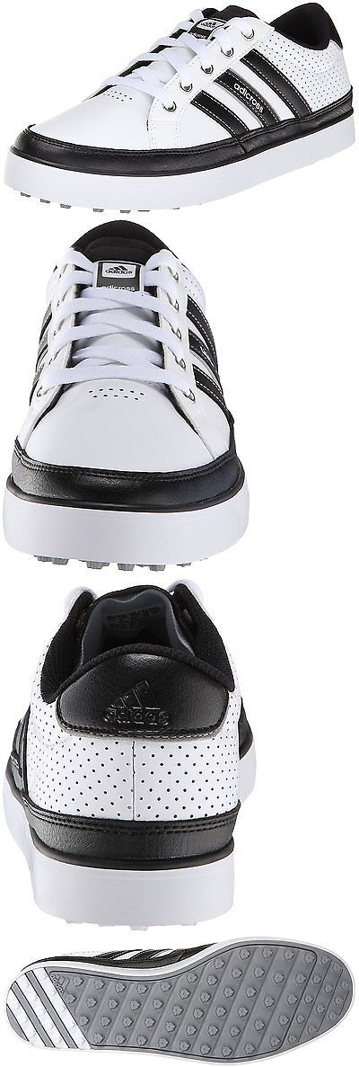Other Womens Golf Clothing 181152: Adidas Mens Adicross Iv Golf Shoe, Ftw White Core Black, 11 M Us 10.5 M Uk -> BUY IT NOW ONLY: $79.98 on eBay!