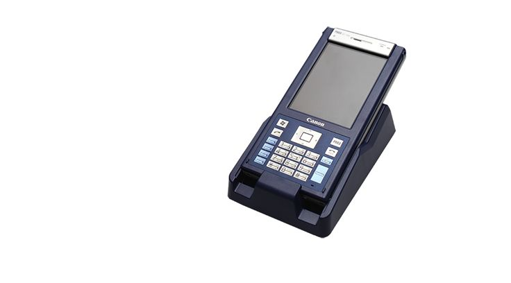 DataFlight Europe AT100 handheld terminal creditcard POS inflight sales duty free