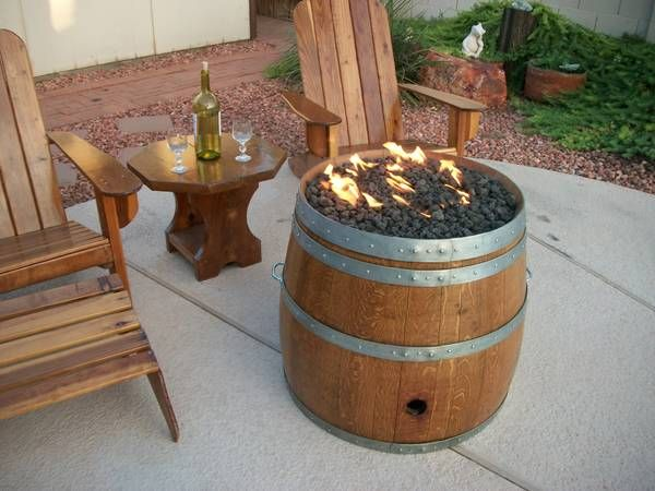 If you love wood here is an interesting use for a wooden barrel.