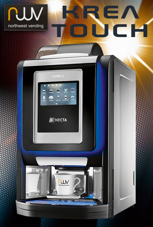 The Krea Touch will offer consumers the ability to make barista quality drinks to just the way they like it, all at the touch of an easy to use on-screen menu. Compact dimensions mean the Krea Touch will easily fit into any small kitchenette or breakout area and yet provide drinks for up to one hundred people between ingredients refills. Cost wise, the Krea Touch will likely be as competitive as its non-touch screen sibling and a market leader for value and quality. #Kreatouch…