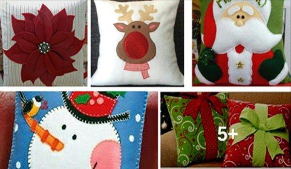 Ideas nuevas para hacer cojines navideños con este molde… Te encantaran Wow! – 10 Ideas