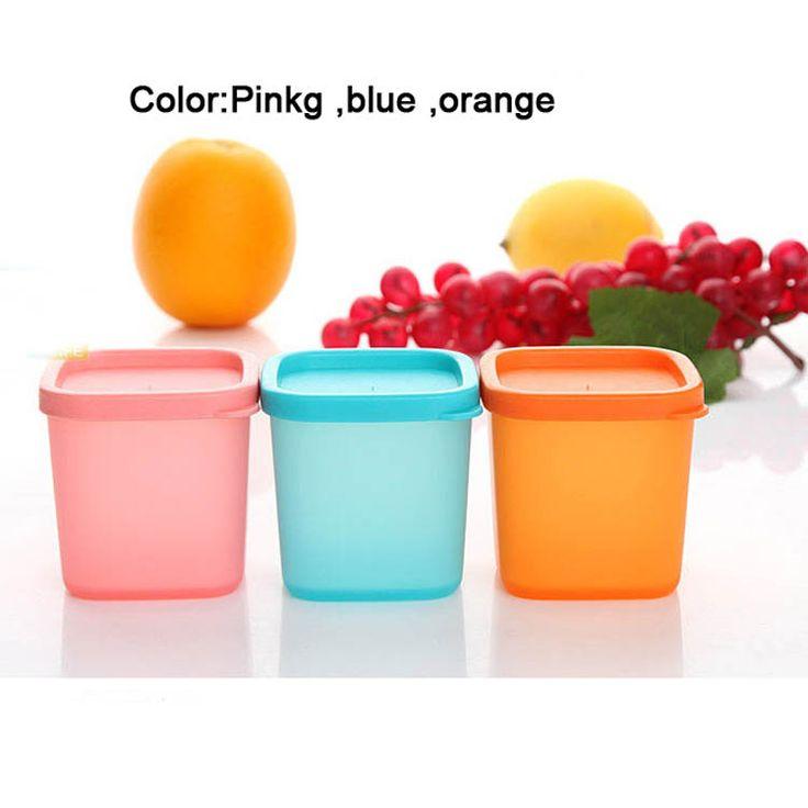 Детское питание хранения конфеты цвета, Пэ закуски чашки печенье чашки, Детское питание коробка, 9 шт./лот