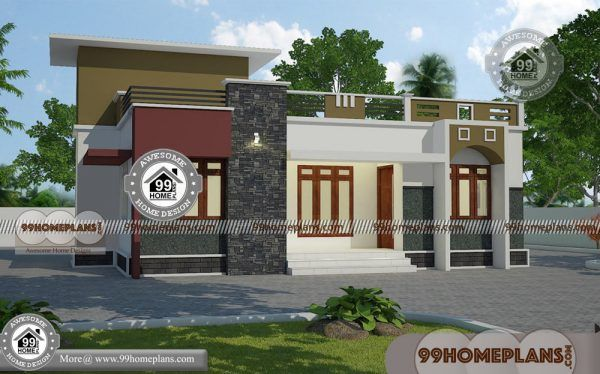 Single Story Modern House Plans With Low Budget Stylish