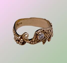 Mermaid Diamond ring
