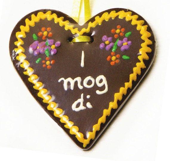 Miniature Gingerbread Heart I mog di von DinkyWorld auf Etsy