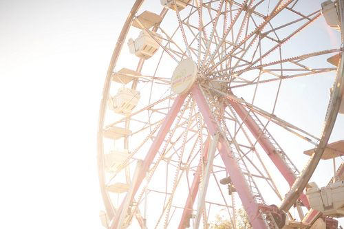 Day at the fair.: Pink Summer, Favorite Things, Childhood Memories, Pale Pink, Photo Inspiration, Amusement Parks, Carousels, Ferris Wheels, Photography
