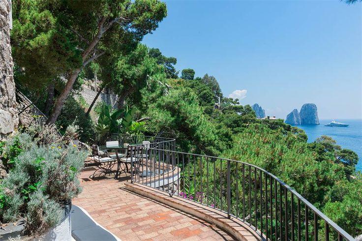 Villa Pieds dans l'eau in Capri Via Krupp Capri, Naples, Italy – Luxury Home For Sale