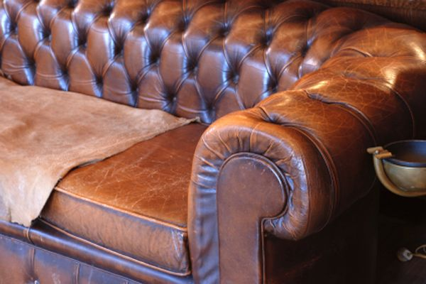 How to Get Smell Out of Leather Couch