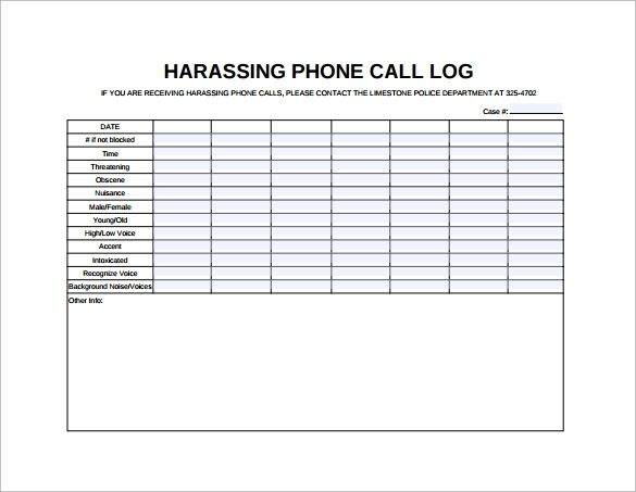 Telephone Call List Templates 10 Free Printable Xlsx Docs Formats List Template Telephone Call Phone Messages