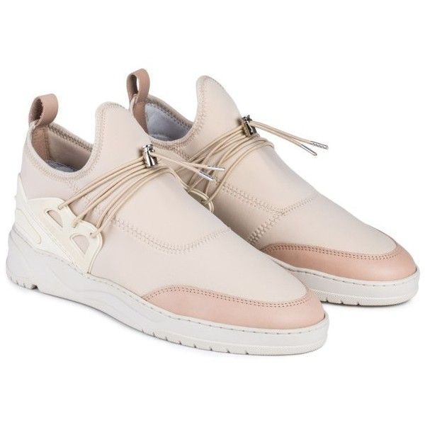 Filling Pieces Astro Runner Jinx Sneakers (£230) ❤ liked on Polyvore featuring shoes, filling pieces shoes and filling pieces