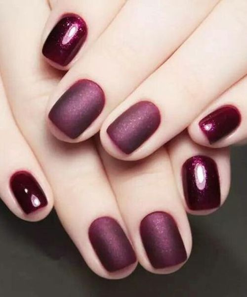 Deep Wine Nail Polish: 25+ Unique Deep Red Nails Ideas On Pinterest