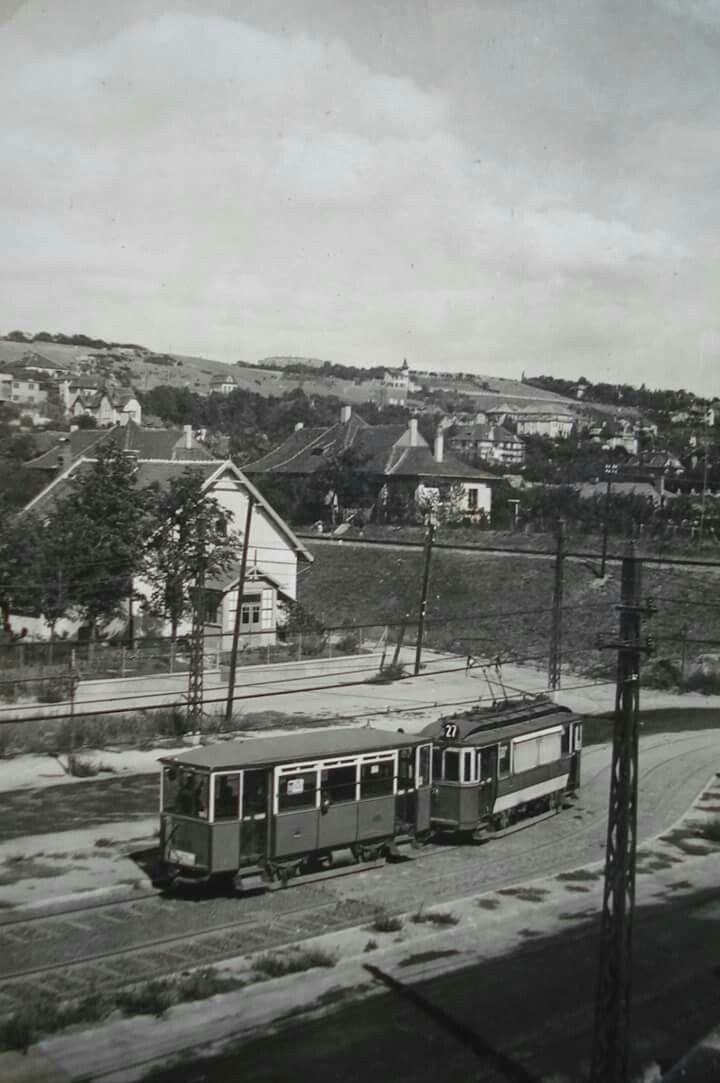 1927 körül. Szent Imre herceg út, ma Villányi út.