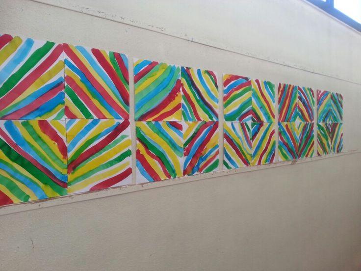 Lignes obliques kandinsky peinture pinterest kandinsky for Peinture graphique