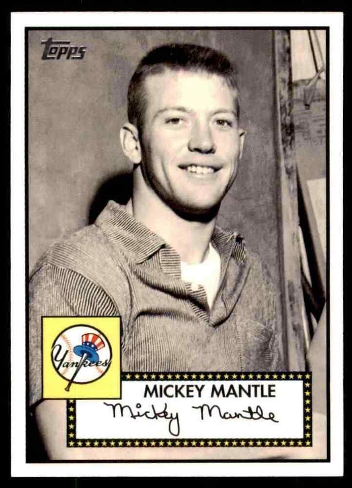 2007 Topps Baseball Mickey Mantle New York Yankees 5 Insert Newyorkyankees In 2020 Mickey Mantle Major League Baseball Players New York Yankees