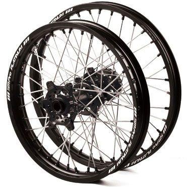 roues motocross jantes noir moyeu noir yamaha yz yzf
