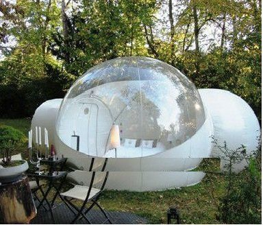 2016 custom portable outdoor inflatable bubble dome lawn clear tent