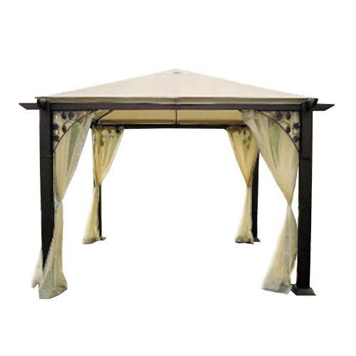 Garden Winds Replacement Canopy for the Trellis Gazebo RipLock 350 * Read more reviews of the product by visiting the link on the image.