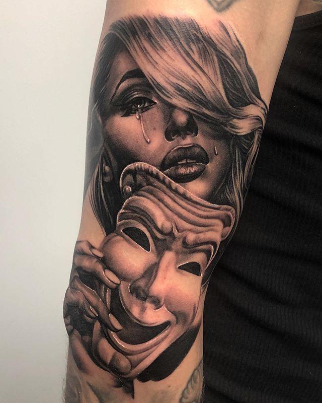 Trendy Tattoo Frauen Unterarm Gesicht Ideas 8