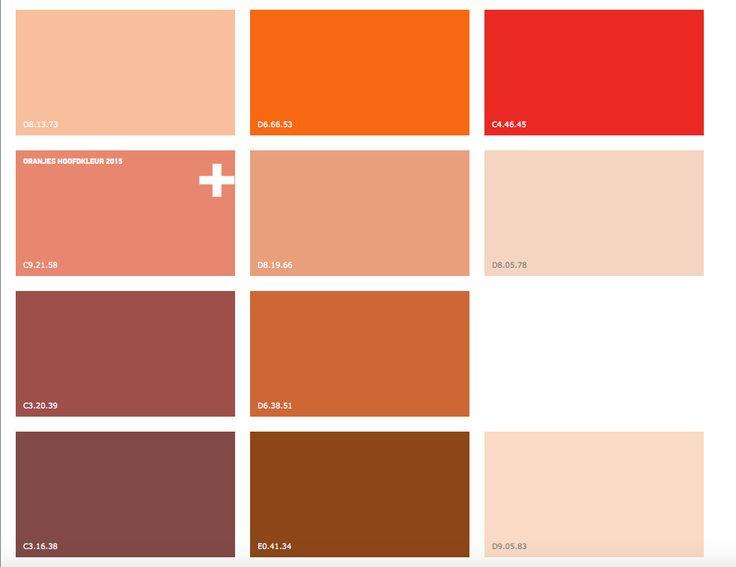 Koper oranje 2015 trendkleur 2015 pinterest oranje koper en zoeken - Kleurkaart kleur interieur verf ...