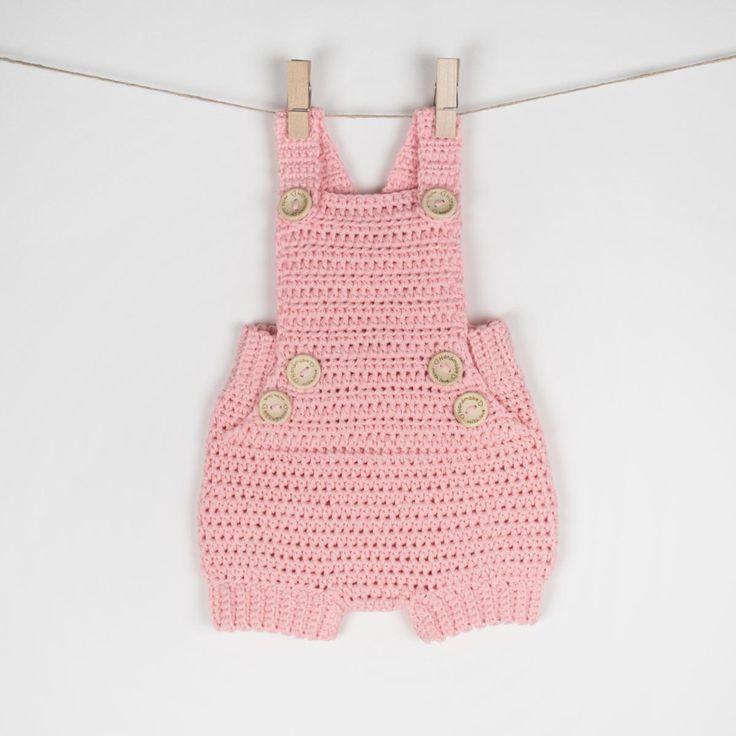 Crochet Baby Romper/Onesie Pure Happiness | Craftsy