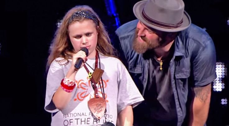 Country Music Lyrics - Quotes - Songs Zac brown band - Blind 11-Year Old Steals The Show At Zac Brown Band Concert - Youtube Music Videos http://countryrebel.com/blogs/videos/blind-11-year-old-steals-the-show-at-zac-brown-band-concert