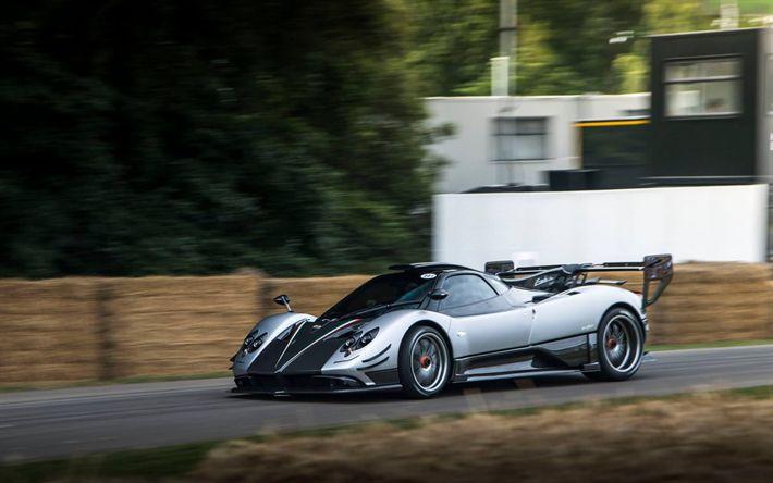 Hämta bilder Pagani Zonda, Superbil, Italiensk sportbil, tuning, Oliver Evolution
