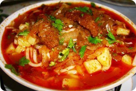 Рецепты суп из баранины шурпа