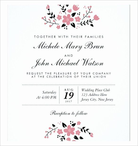 Wedding Invitations Template Free Download Love Blank Wedding Invitation Templates Wedding Invitations Printable Templates Wedding Invitation Wording Templates - ms word invitation templates free download