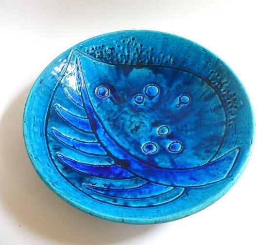 Swedish Modernist Ceramic Bowl by Rorstrand by mascarajones, $300.00