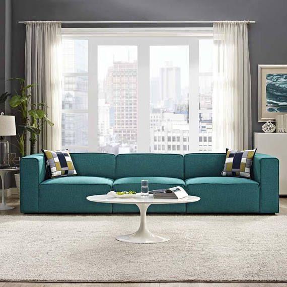 BO.  3 PIECE Modular Sectional Sofa  Modern Contemporary