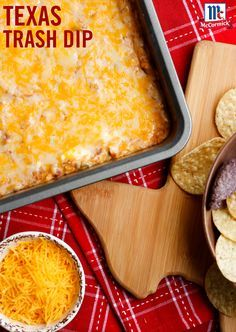 Stop the search! You've found the ultimate ooey, gooey, cheesy bean dip recipe that's perfect for a game day party appetizer. Taco Seasoning, cheese and refried beans combines for an irresistible party dip.