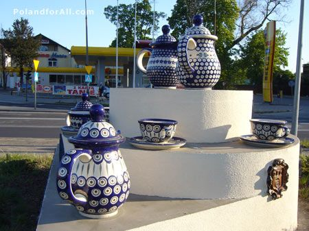 Boleslawiec, Poland     Great place for some polish pottery.