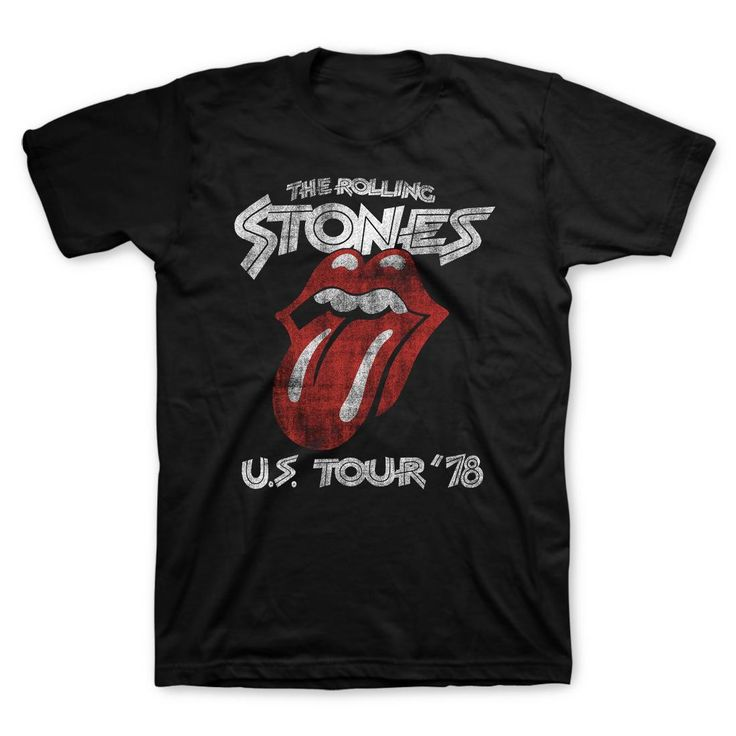 T-shirt Rolling Stone Tour 78