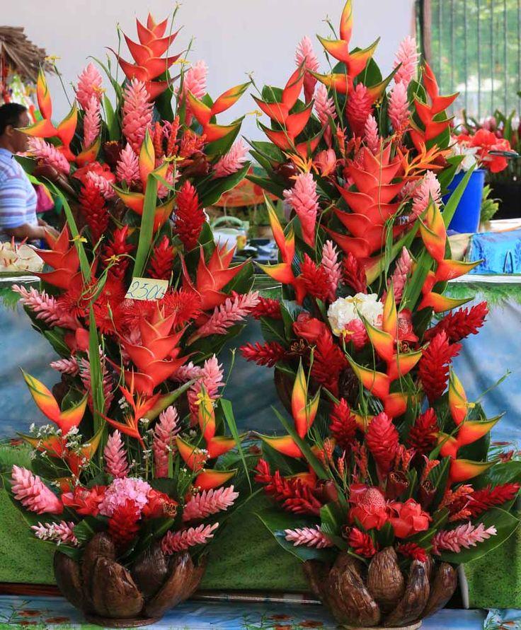 Flower art Papeete