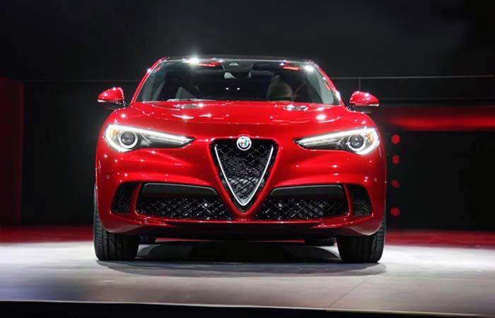 2018 Alfa Romeo Stelvio overview