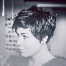 Image result for pixie cuts for wavy hair