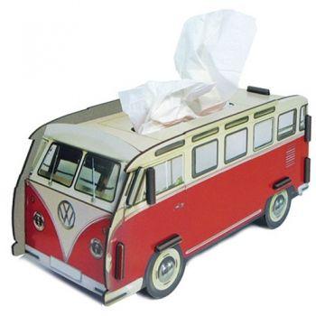 "Werkhaus Shop - VW T1 ""Rot"" - Tissue-Box"