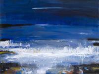 Evening light on the sea, Morar