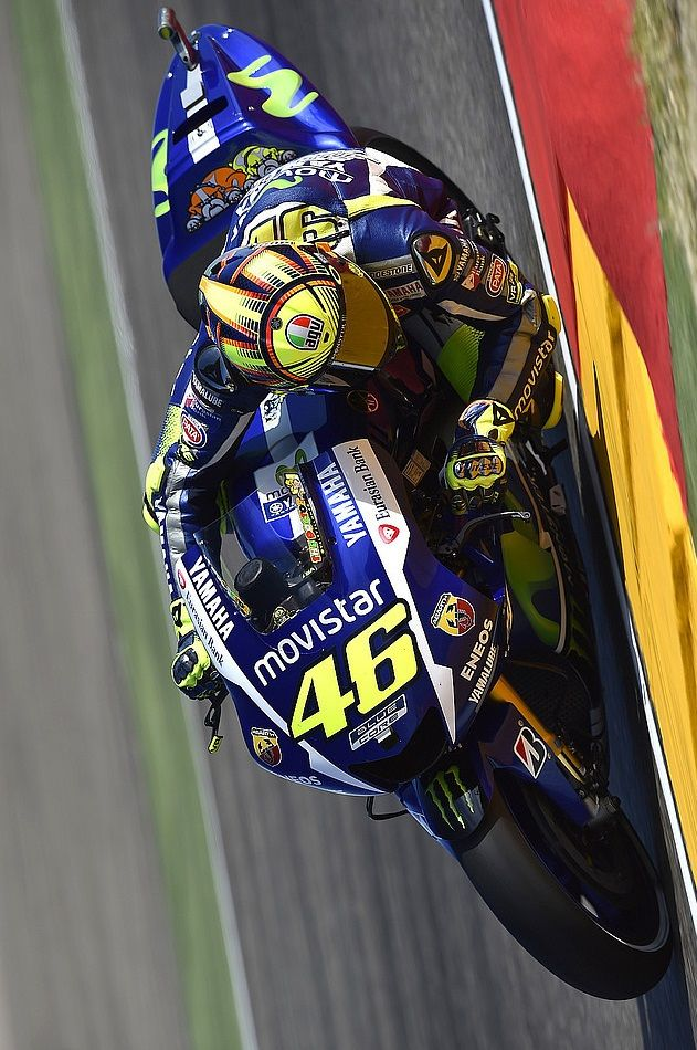 SPEED: Valentino Rossi, Movistar Yamaha MotoGP Aragon GP
