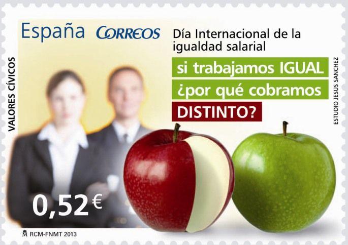 Valores cívicos - sello de 0.52€