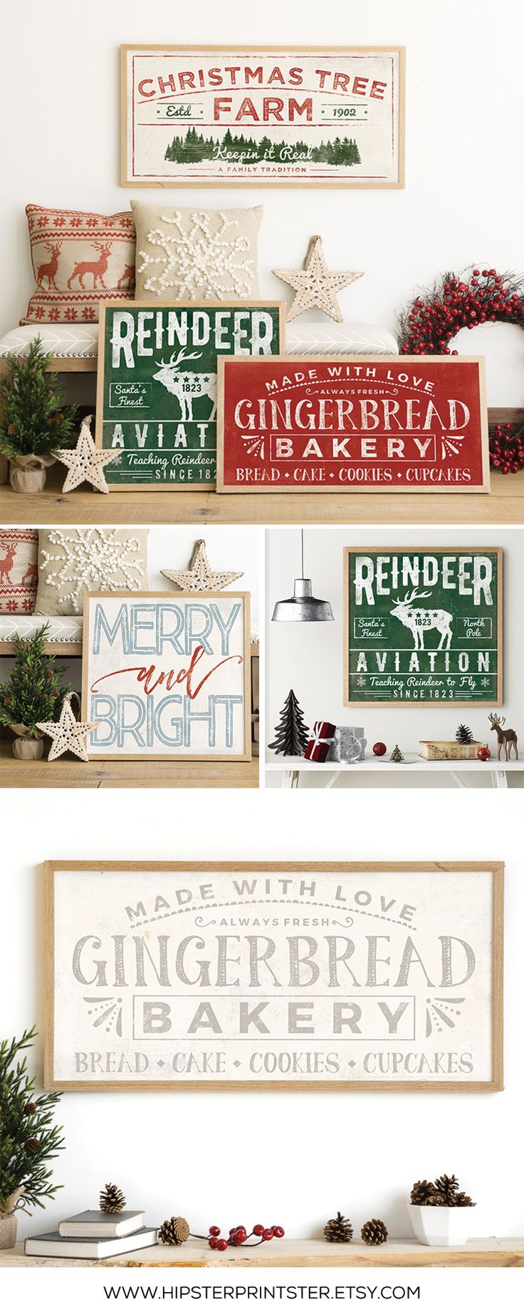 Vintage Christmas Decorations - Affordable Christmas Decor